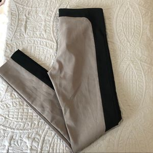 Walter Baker two tone black and gray work legging